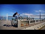 Вело паркур и немного рекламы Форда
